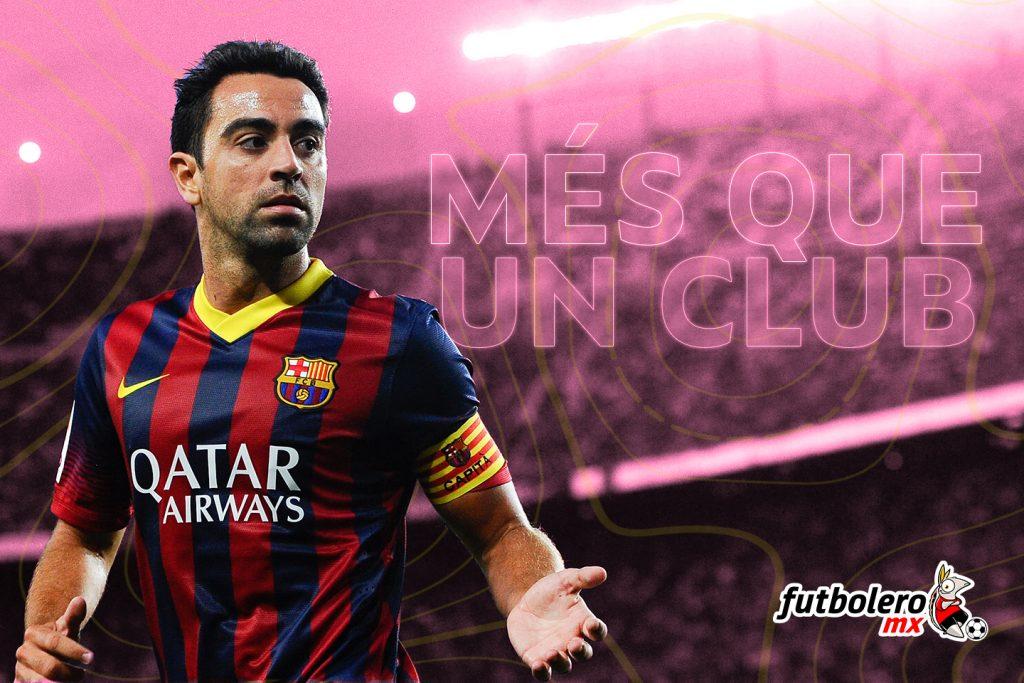 mes que un club barcelona xavi